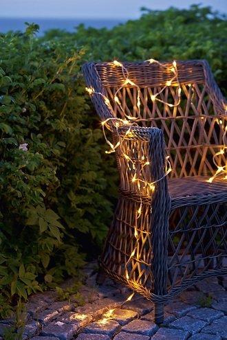 Sirius Lichterkette Jason 80 LED außen 6,4 m transparent