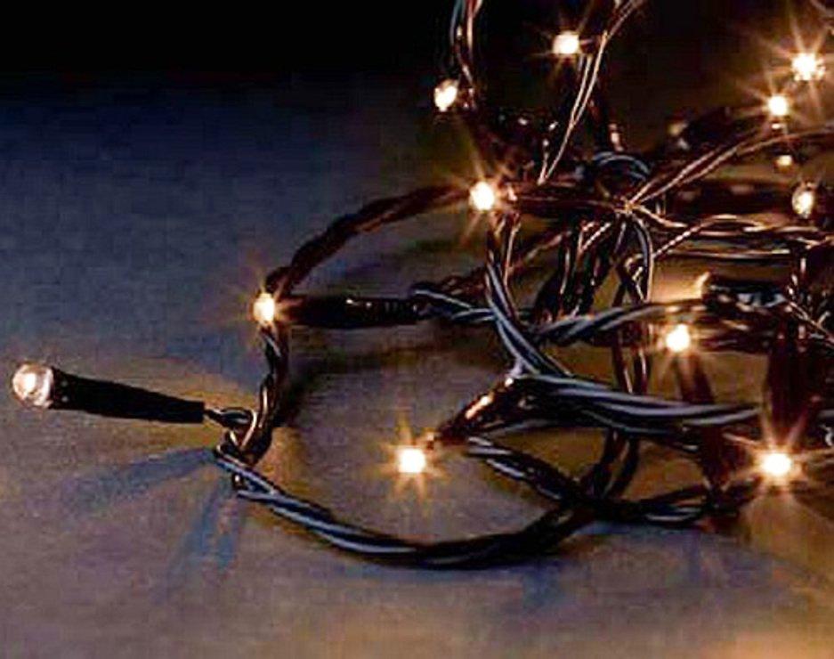 Sirius Lichterdekoration Easy-Line Netz 96 LED warmweiß 1,1 x 1m außen schwarz - Pic 4