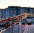 Sirius Lichterdekoration Easy-Line Netz 96 LED warmweiß 1,1 x 1m außen schwarz - Thumbnail 2