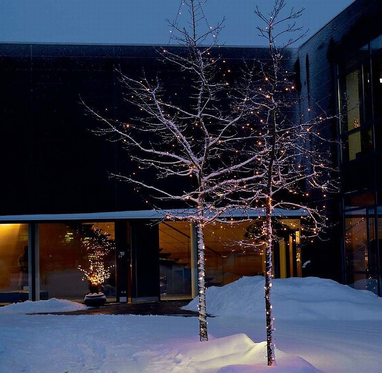 Sirius Lichterdekoration Easy-Line Netz 208 LED warmweiß 2,1 x 1,5m außen schwarz - Pic 4