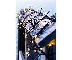Sirius Lichterkette Top-Line System Clusterlichter Starter Set 200 LED außen 3m