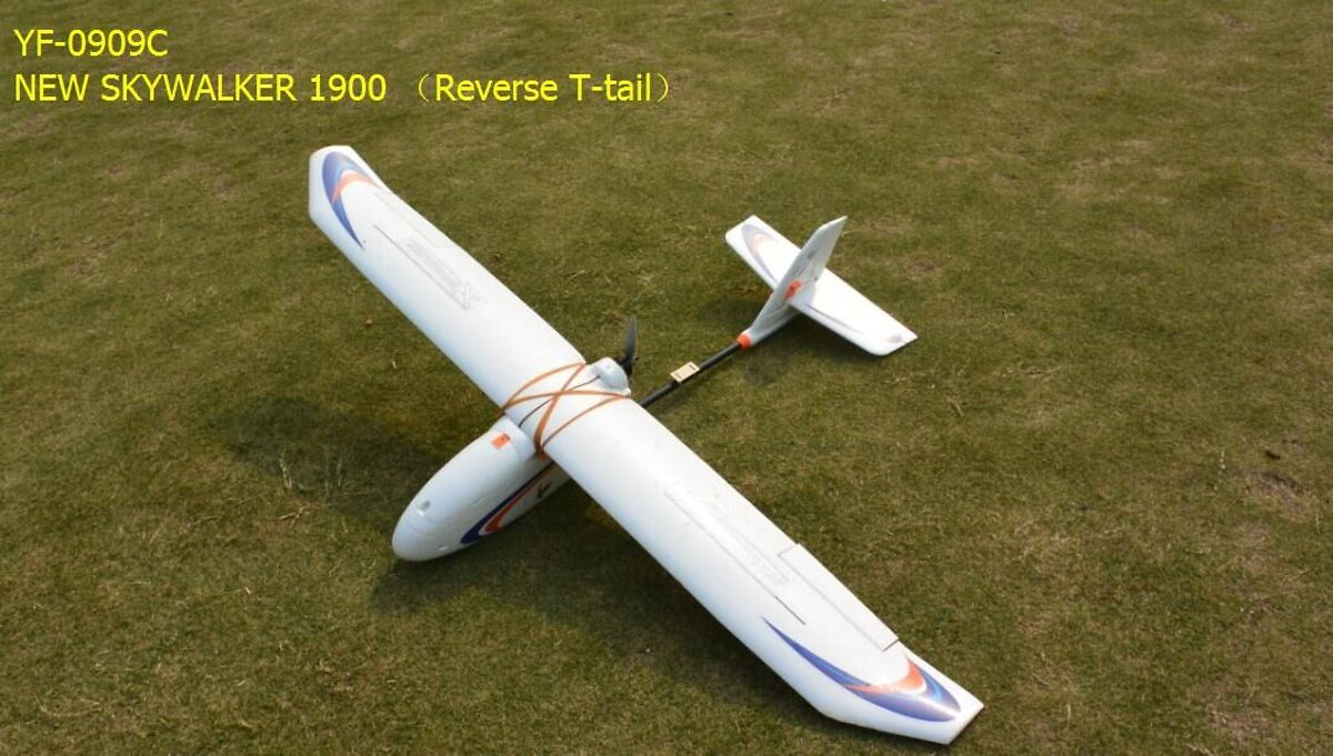 Skywalker New 1900 FPV Flugzeug Reverse T-Tail - Pic 1