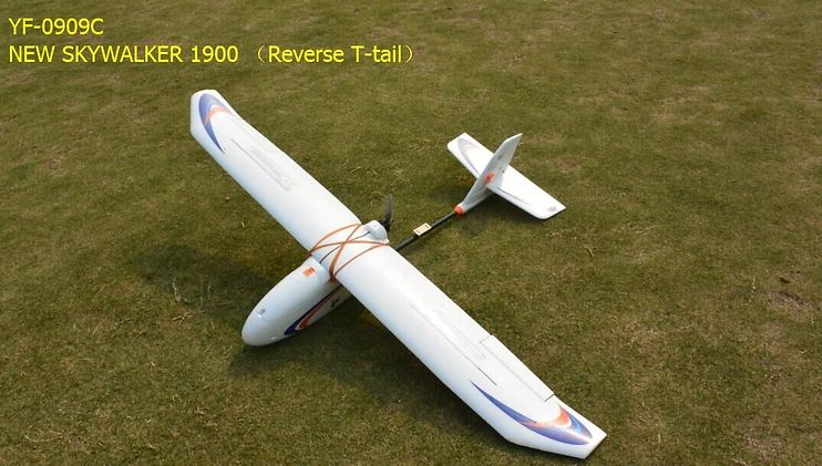 Skywalker New 1900 FPV Flugzeug Reverse T-Tail