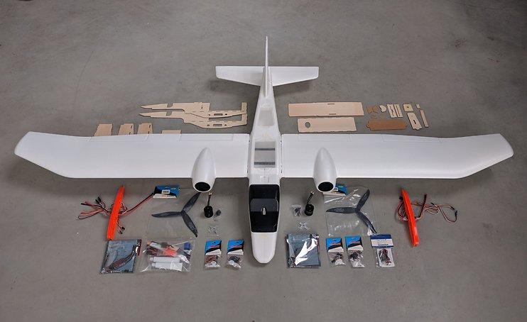 Skywalker WALL-E 2000 FPV Flugzeug Plug and Play