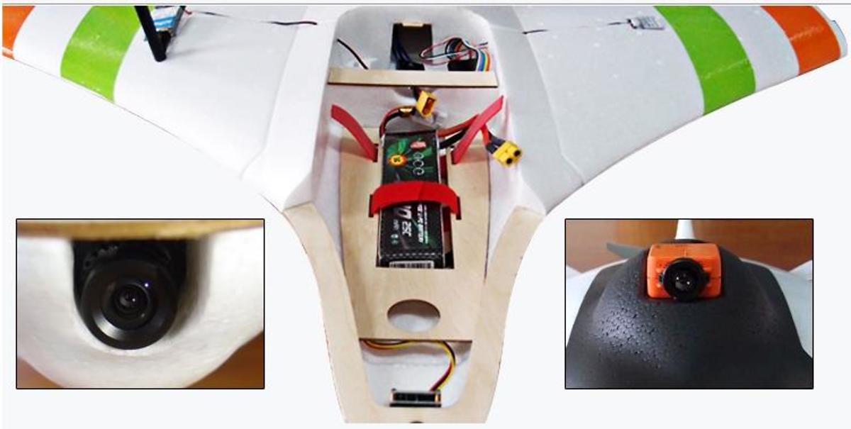 Skywalker X2 FPV Wing Plug and Play Set - Pic 7