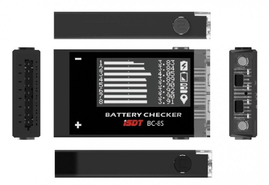 ISDT Akku Prüfer - LiPo Checker - BC-8S - Pic 1
