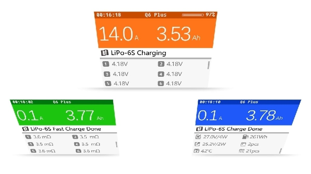iSDT Smart Charger Q6 Plus - LiPo Akku Ladegerät - Pic 4