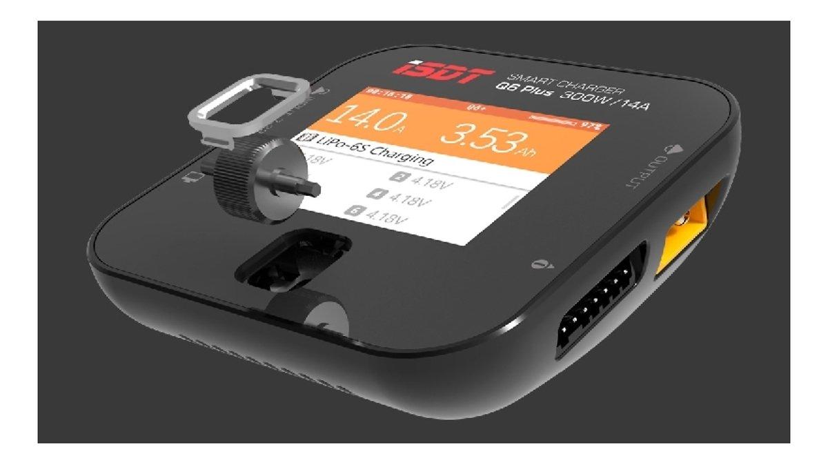 iSDT Smart Charger Q6 Plus - LiPo Akku Ladegerät - Pic 3