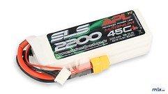 SLS Batterie LiPo Akku APL MAGNUM 2200mAh 4S1P 14,8V 45C/90C