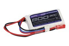 SLS Batterie LiPo Akku XTRON 800mAh 2S1P 7,4V 30C/60C