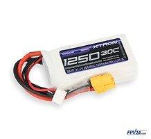 SLS Batterie LiPo Akku XTRON 1250mAh 3S1P 11,1V 30C/60C
