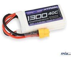 SLS Batterie LiPo Akku XTRON 1300mAh 3S1P 11,1V 40C/80C