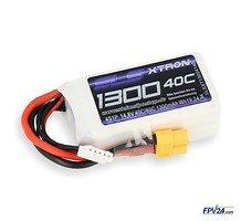 SLS Batterie LiPo Akku XTRON 1300mAh 4S1P 14,8V 40C/80C