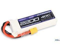 SLS Batterie LiPo Akku XTRON 2200mAh 3S1P 11,1V 40C/80C