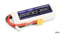 SLS Batterie LiPo Akku XTRON 2200mAh 4S1P 14,8V 30C/60C