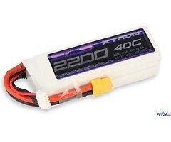 SLS Batterie LiPo Akku XTRON 2200mAh 4S1P 14,8V 40C/80C