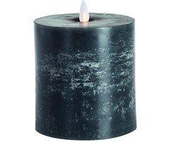 Sompex LED Kerze Flame anthrazit 11 x 10,5cm Timer und fernbedienbar