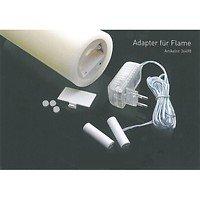Sompex Batterieadapter für 3er Sompex LED Kerze Flame