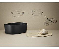 Stelton RIG-TIG Brotkasten Box-it natur schwarz