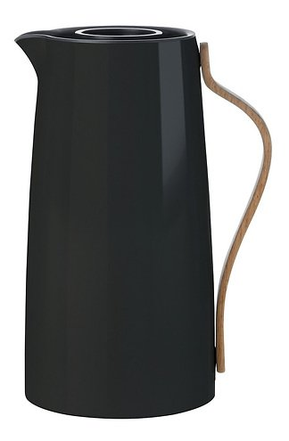 stelton kaffee isolierkanne emma 1 2l schwarz kaufen. Black Bedroom Furniture Sets. Home Design Ideas