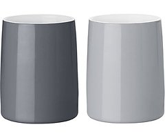 Stelton Thermobecher Emma 250 ml 2er Set grau