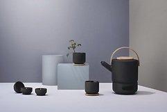 Stelton Teekanne Theo 1,25l schwarz