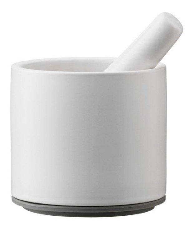 Stelton Mörser CRUSH-IT 12 x 18,5cm weiß grau - Pic 1