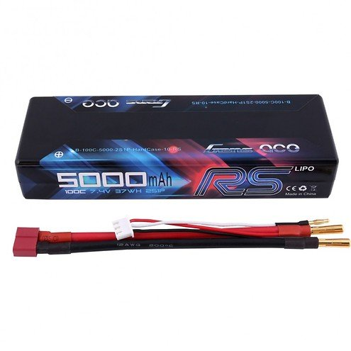 GensAce Batterie LiPo Akku 5000mAh 2S1P 100C HardCase