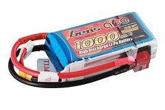 GensAce Batterie LiPo Akku 1000mAh 11.1V 25C 3S1P