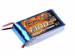 GensAce Batterie LiPo Akku 1300mAh 7.4V 25C 2S1P