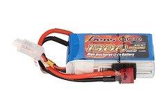 GensAce Batterie LiPo Akku 1300mAh 3S1P 25C