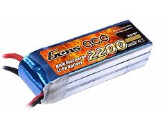 GensAce Batterie LiPo Akku 2200mAh 11.1V 25C 3S1P