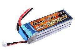 GensAce Batterie LiPo Akku 2600mAh 11.1V 25C 3S1P