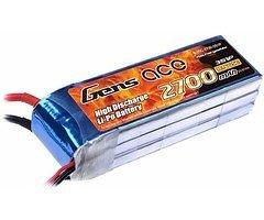 GensAce Batterie LiPo Akku 2700mAh 11.1V 25C 3S1P