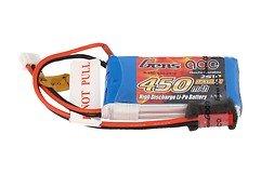 GensAce Batterie LiPo Akku 450mAh 2S1P 25C