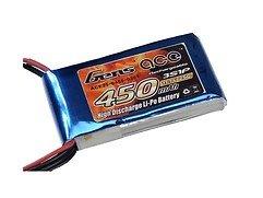 GensAce Batterie LiPo Akku 450mAh 11.1V 25C 3S1P