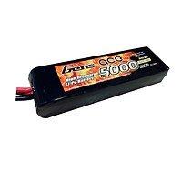 GensAce Batterie LiPo Akku 5000mAh 11.1V 25C 3S1P Lipo mit TRX Connector