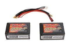 GensAce Batterie LiPo Akku 5100mAh 2S3P 25C