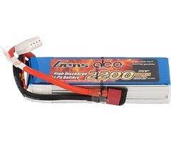 GensAce  Batterie LiPo Akku  2200mAh 3S1P 30C