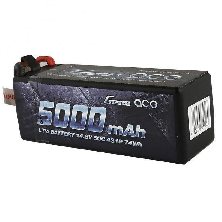 Gens ace 5000mAh 14.8V 50C 4S1P HardCase 14 - Pic 2