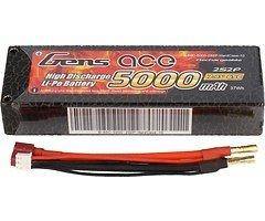 GensAce Batterie LiPo Akku 5000mAh 2S2P 65C
