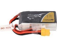 GensAce  Batterie LiPo Akku  1050mAh 4S1P 75C