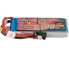 GensAce Batterie LiPo Akku 2600mAh 2S1P Sender Akku