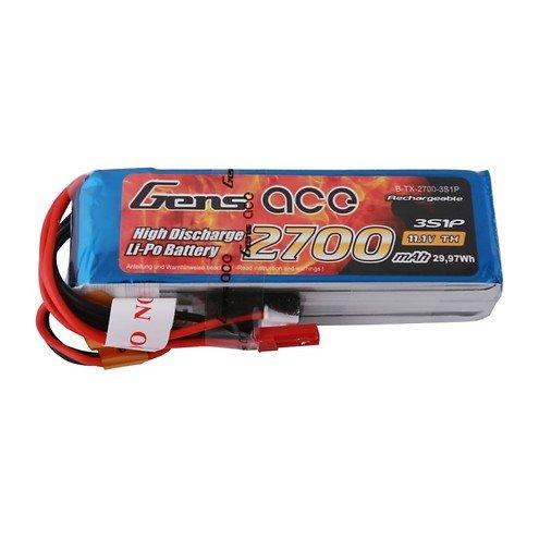 GensAce FrSky X9D Batterie LiPo Akku 2700mAh 11.1V 3S1P