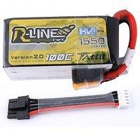 Tattu R-Line Batterie LiPo Akku 1550mAh 100C 4S1P