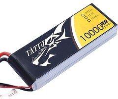 Tattu Batterie LiPo Akku 10000mAh 11.1V 15C 3S1P