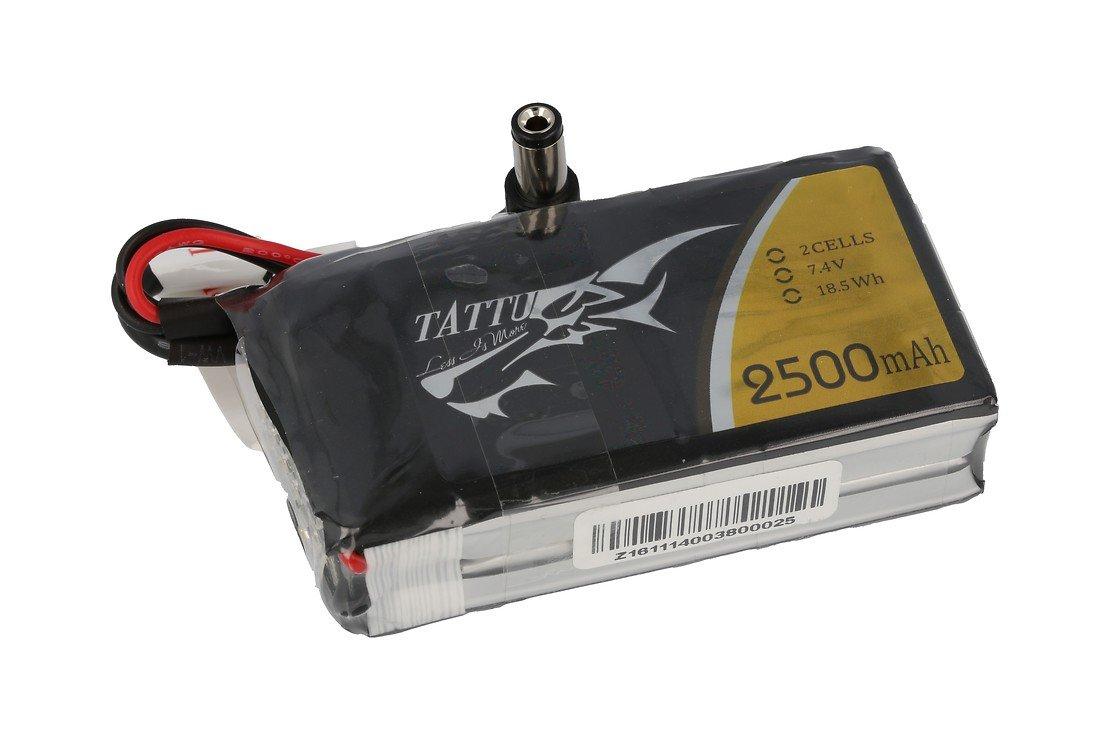 Tattu Batterie LiPo Akku für Videobrillen u.a. Fatshark 2500 mAh - Pic 1