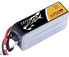 Tattu Batterie LiPo Akku 6750mAh 14.8V 25C 4S1P