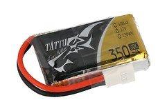 Tattu Batterie LiPo Akku 30C 350mAh 1S1P Molex 6er Pack