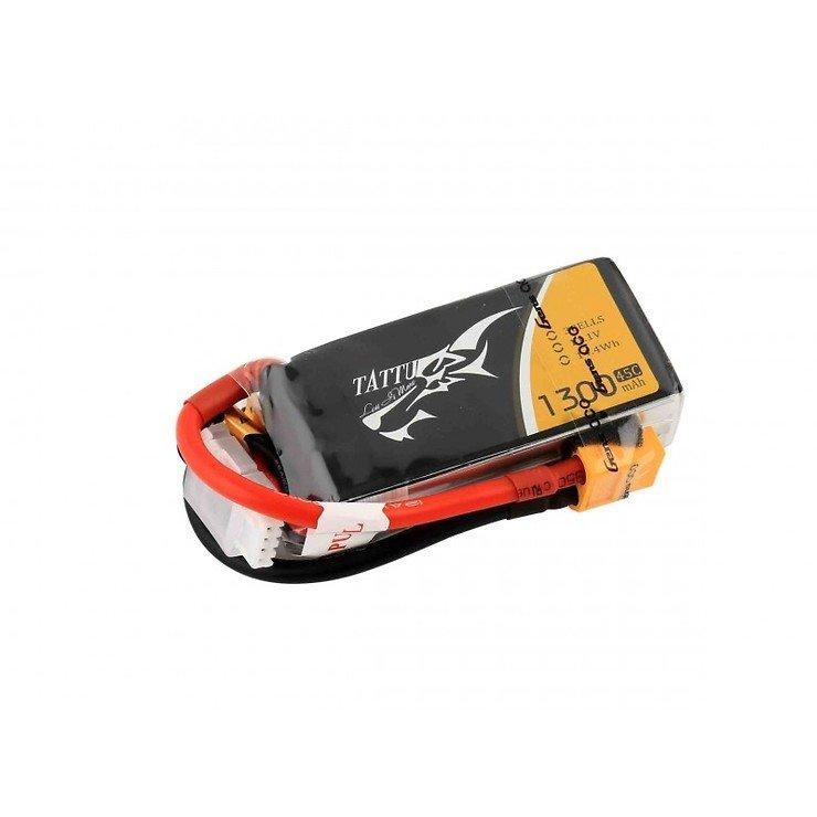 Tattu Batterie LiPo Akku 1300mAh 3S1P  11.1V 45C - Pic 1